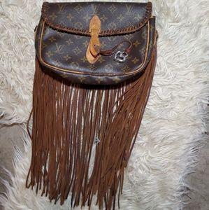 Vintage Louis Vuitton Fringe Clutch